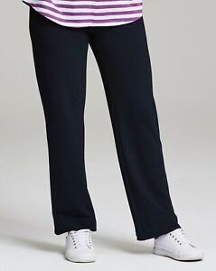 Simply Be Ladies Casual Black Soft Comfy Tracksuit Pants Bottoms Size 12 14 18