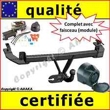 ATTELAGE remorque Fiat Panda 2002 á 2012 + faisceau 13 broches complet / neuf