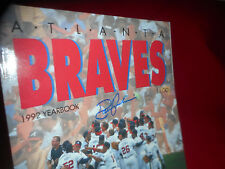 Atlanta Braves 1992 Official Yearbook Autographed by DAVID JUSTICE Baseball MLB