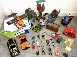 Large Bundle CHAP MEI Safari Adventure Dino Valley Vehicles Map Rare Toy joblot