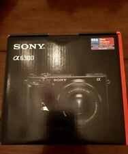 Sony Alpha a6300 24.2MP Mirrorless Camera - Black (kit w/ 16-50mm Lens) UNOPENED
