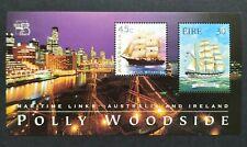 1999 Australia Stamps Exhibition Ireland Ship Yacht Miniature Sheet 澳洲邮展爱尔兰帆船小全张