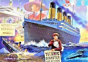 Titanic by Steve Crisp Brand New Sealed Bluebird 1000 Piece Jigsaw Puzzle