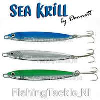 Pollack /& More Bass Black//Silver - BK, 10g Mackerel Gowan /& Bradshaw Connemara Krill Sea Fishing Lures//Jig Spinners For Sea Trout
