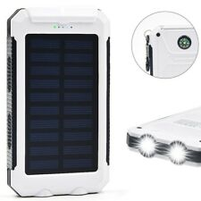 2000000mAh 2 USB Portable Solar Battery Charger Solar Power Bank For Phone WTK