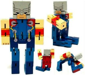 Miniso Marvel THOR Action Figure Collectible 5.4 in Movable Wooden Toy(3+) 1pc