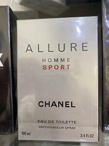 CHANEL ALLURE HOMME SPORT EAU DE TOILETTE Vapo 100 ml , sigillato , scontato