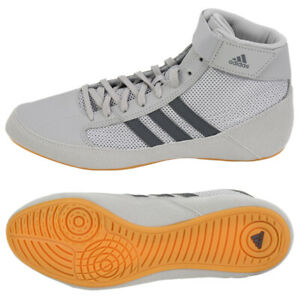 Adidas HVC Men's Boxing Shoes Training Wrestling Gray AC7502