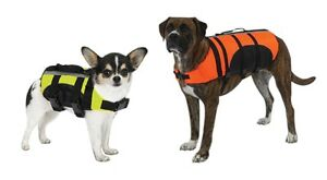 DOG LIFE JACKET Aquatic Pet Preserver Water Safety Vests for Dogs Swim Vest