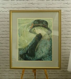 Barbara A Wood - Contemporary American lithograph limited print | Thames Hospice