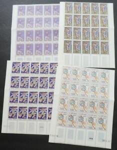EDW1949SELL : TUNISIA 1961 Scott #B130-33. 20 Complete sets. VF MNH. Catalog