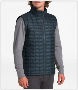 NWT The North Face THERMOBALL ECO PACKABLE Vest, Urban Navy Blue Matte