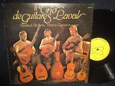 "Dowland, De Falla, Albet autres""Le Trio de Guitares Laval"" LP"