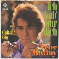 "PETER MAFFAY  Ich hab' nur dich - 7"" Single 1971, Coverhülle SIGNIERT"