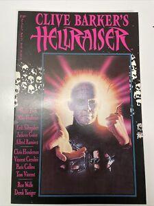 Clive Barker's Hellraiser #11 VF- 1992 Marvel Epic Comics Pinhead Cover Movie