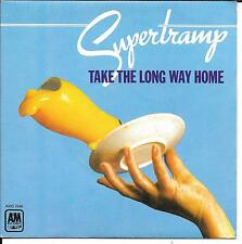 "45 TOURS / 7"" SINGLE--SUPERTRAMP--TAKE THE LONG WAY HOME / RUDY--1974"