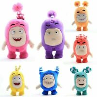 7''/12'' Oddbods Plush Stuffed Toy Bubble Pogo Zee Jeff Fuse Slick Doll Kid Gift