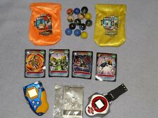 DIGIMON ITEMS MARBLES 2001 2002 BAGS  mega cards multi listing