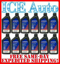 12 PACK - ACDelco SAE 5W/30 FULL SYNTHETIC Motor Oil Dexos1 #88865635 Mobil 1