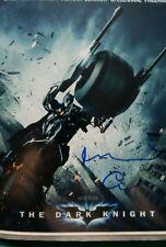 Michael Caine signed Batman