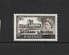 1955 Queen Elizabeth II SG94 2r on 2/6d Brown Windsor Castle MNH  BAHRAIN