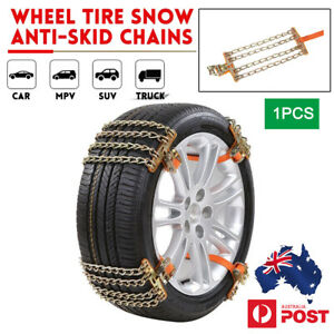 1PCS Snow Chains Car Anti Slip Tire Chains  Belt For Ice Snow Mud Road Unviersal