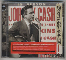 Johnny Cash - Bootleg Volume 3: Live Around the World - Brand New & Sealed 2CD's