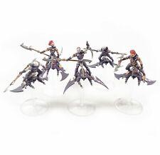 Warhammer 40k Army Dark Eldar Drukhari Hellions x5 Painted