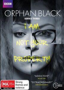 Orphan Black : Series 3 (DVD, 2015, 3-Disc Set)**R4**terrific Condition
