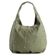 DEUX LUX Studded Vegan Leather Hobo Shoulder Bag in Mint Green NWT-SRP:$170
