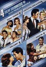 NEW 2 DVD - ELVIS - KISSIN' COUSINS + LIVE A LITTLE + GIRL HAPPY + TICKLE ME