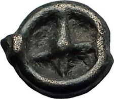 ISTROS Thrace 500BC Wheel Money Authentic Ancient Greek Coin BLACK SEA i59291