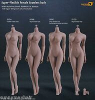 "TBleague Phicen 1:6 S06B Female Suntan Skin Large Bust Figure Body 12"" Model Toy"