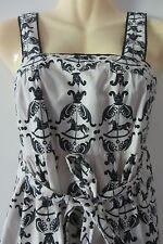 MUSHU cotton wrap dress, size AUS 8-10, Small