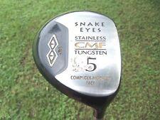 Snake Eyes 18° 5 Wood Computer Modeled Face Titanium/Tungstun CMF Golf Club