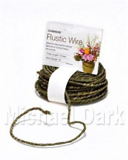 OASIS® Rustic Grapevine Wire (gauge 18) Green