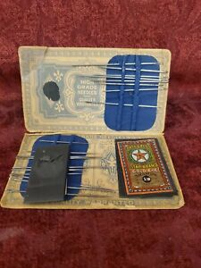Antique  German The family combination Needle Case with Sewing Needles Used