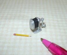 Miniature Cast Metal Pencil Sharpener (Non-Moving) w/Pencil:  DOLLHOUSE 1:12