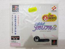 PSX SONY PLAYSTATION JAP NTSC TOKIMEKI MEMORIAL 2 - KONAMI - SEALED