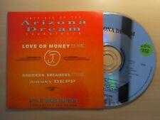ARIZONA DREAM : LOVE OR MONEY / AMERICAN DREAMERS (ft Johnny Depp) [ CD SINGLE ]