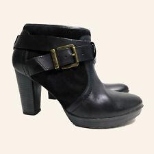 Clarks Damen Schuhe Gr.5,5 Pumps Stiefeletten EUR 39 Schwarz, 71359