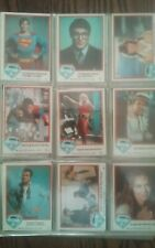 1978 Topps Superman Complete 165 Trading Cards Set Series 1+2 (NM/MT)