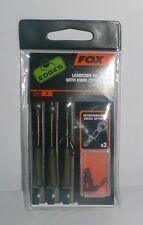 Fox Edge: leadcore heli rigs with kwik change kit light camo par 3