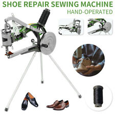 Hand Cobbler Shoe Repair Machine Nylon Line Sewing Equipment Cloth/Leather TOP