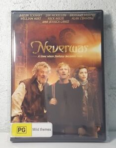 Never Was DVD Brittany Murphy Jessica Lange Fantasy Fairy Tale Movie