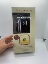 BALDWIN Keswick TISSUE ROLL TOILET PAPER HOLDER 3803-260 Polished Chrome NOS