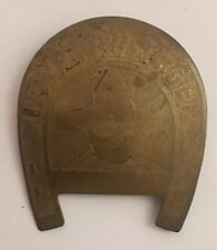 Vintage LONE RANGER Horseshoe Pin Badge Cowboy Western Childrens Toy RARE