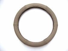 Lenkrad Bezug echtes Leder grau für Lenkräder von 37 - 39 cm Durchmesser