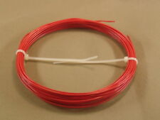 20 feet PTFE teflon 22 AWG Silver Plated wire solid RED Mil spec 16878/ 4 Type E