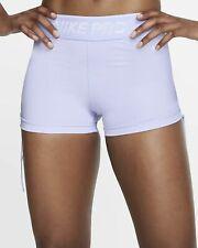 "Womens NIKE PRO 3"" Running Shorts  size Small BV3292-539"